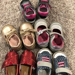 Baby girl shoe bundle